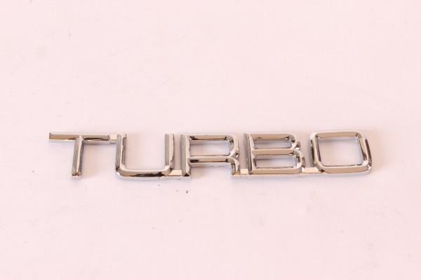 Modellzeichen Schriftzug 'TURBO' Alfa 75 Turbo + 164 Turbo NEU Original