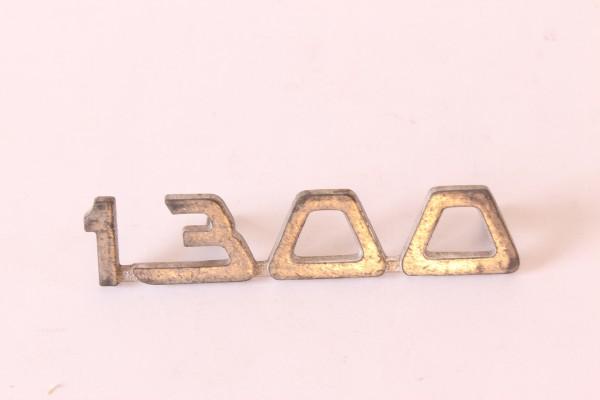 Modellzeichen Schriftzug '1300' Giulia Sprint NEU Oberfläche oxidiert