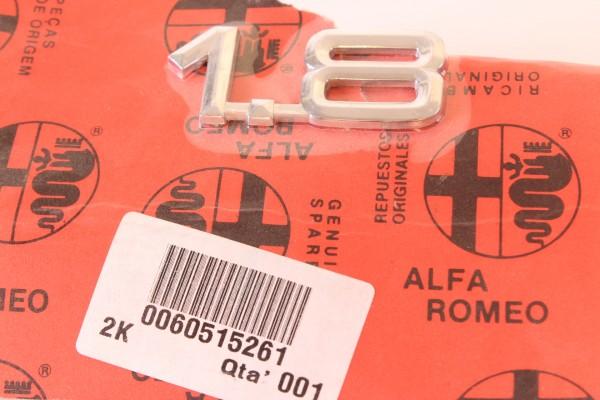 Modellzeichen Schriftzug '1.8' Alfa 145/6+155+33+75 NEU Original