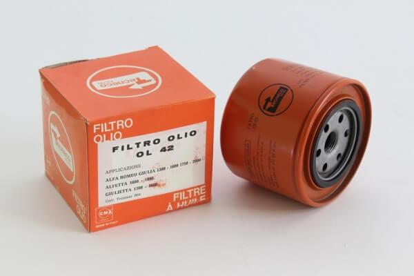 Ölfilter OL42 NEU 105/115+Alfetta/GT/V/6+Giulietta