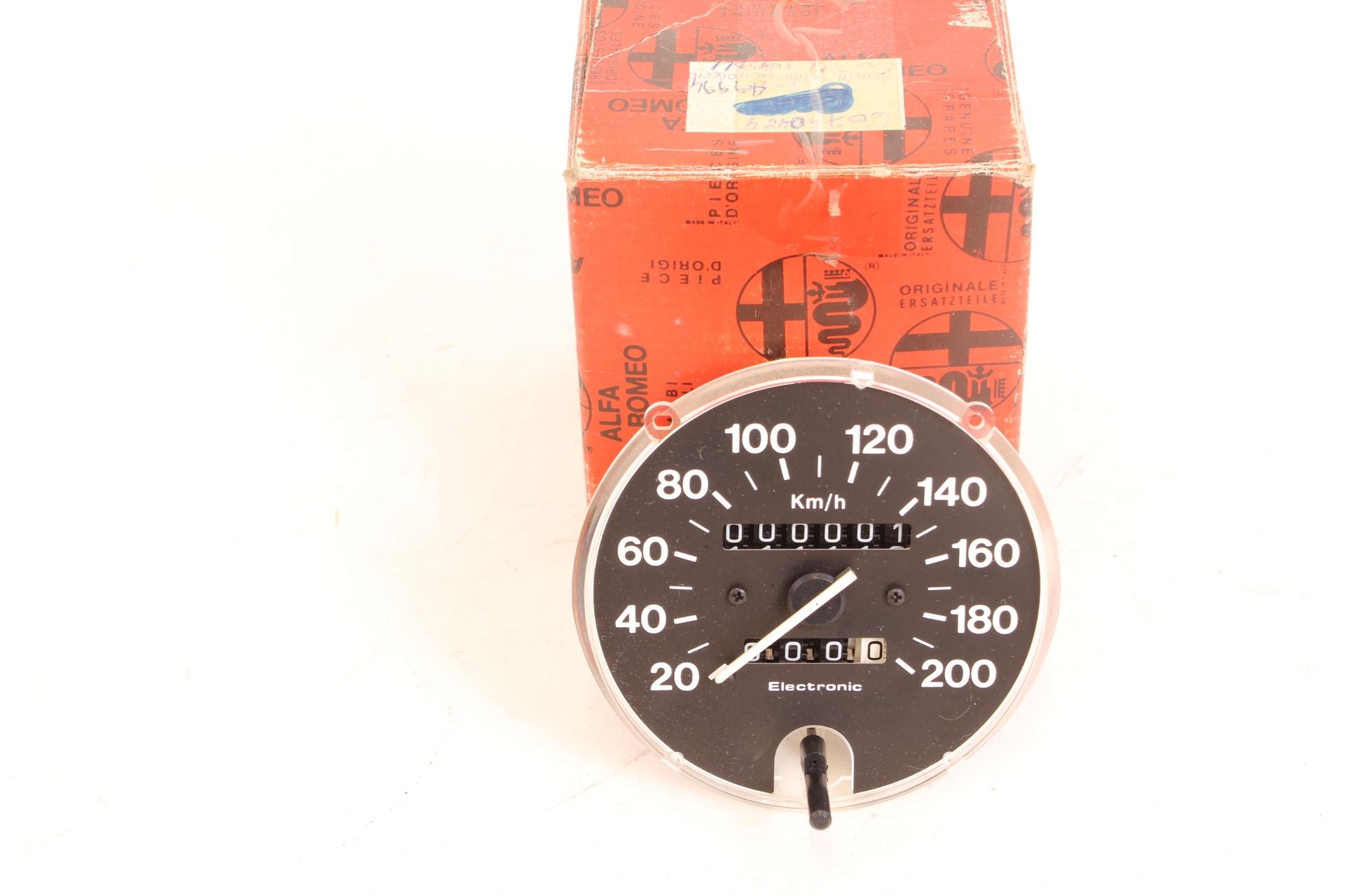 Tachometer Kilometerzähler Electronic Alfa 33 NEU Orginal