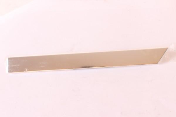 Zierleiste Kotflügel vorne rechts (silber )Alfa 164 Super NEU Original