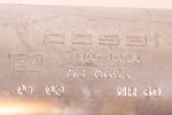 Schalldämfer Teilabschnitt Alfa 145 1.4 16V, 1.6-1.8 TS Bj. 1997-1999 NEU