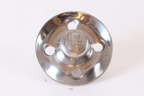 Radkappe mit eingeprägten Emblem Alfa div. 105 mit LK 4x108 GEBRAUCHT