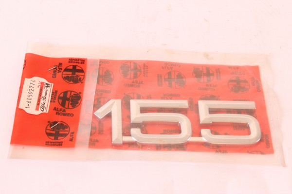 Modellzeichen Schriftzug '155' NEU Alfa 155