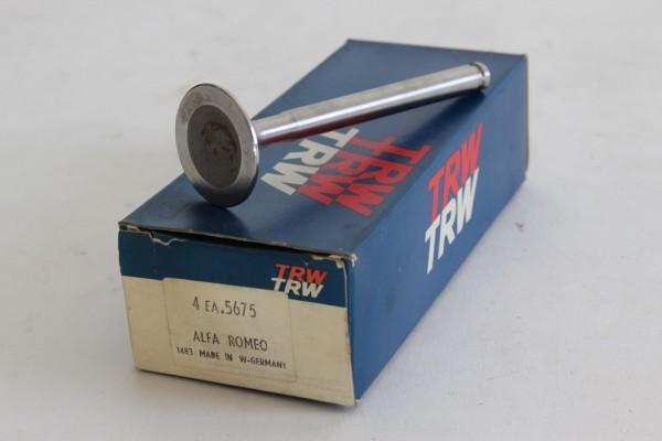 Auslaßventil Satz (4 Stück) natriumgefüllt 34 mm 1300cc Alfa 105/115 NEU
