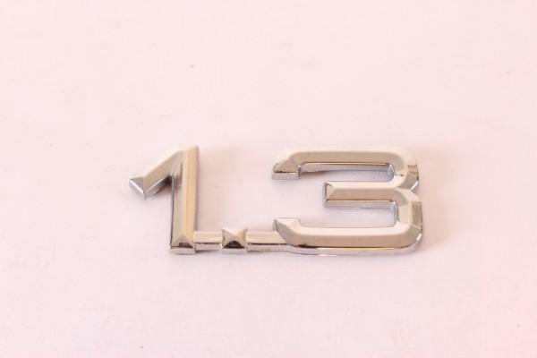 Modellzeichen Schriftzug '1.3' Alfa 33+145/6 NEU Original