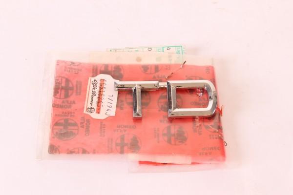 Modellzeichen Schriftzug 'TD' Alfa 145/6+155+164+33+75 (alle TD) NEU Original
