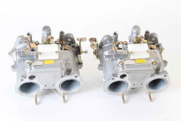 Satz Doppelvergaser NEU Dellorto DHLA 40 G für Alfetta 1.6