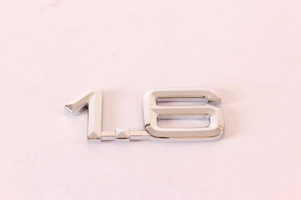 Modellzeichen Schriftzug '1.6' Alfa 145/6+155+75 NEU Original