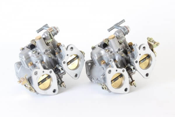 Satz Doppelvergaser Dellorto DHLA40 NEU 105(Giulia+Bertone+Spider) 1.3, Verwendung auch für 16600/17