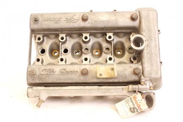 Zylinderkopf leer ohne Ventile und Nockenwelle mit Ventildeckel Alfa Alfetta+Giuletta 1.3-1.6 GEBRAU