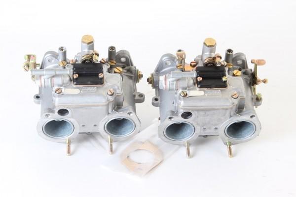 Satz Doppel Vergaser NEU Dellorto DHLA 40 G für Alfetta GTV 2,0 + 1,8