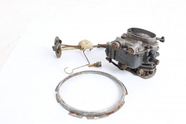 Solex Registervergaser für Giulietta 1,3(ggf.1,6) Sprint,Typ 101 mit Scheinwerferring und Tankgeber