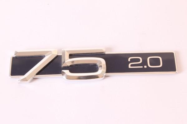 Modellzeichen Schriftzug '75 2.0' Alfa 75 2.0 NEU Original