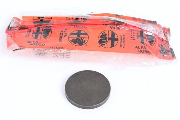 Ventileinstellplättchen 3,70 mm, 31 mm Durchm. Alfa 33+Alfasud NEU Original