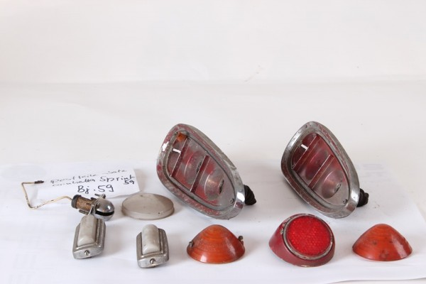 Beleuchtungsteile GEBRAUCHT Giulietta Sprint 1959