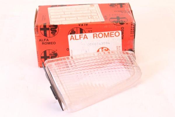 Blinkerglas weiß vorne links Alfa 164 Bj. 1987-1992 NEU Original